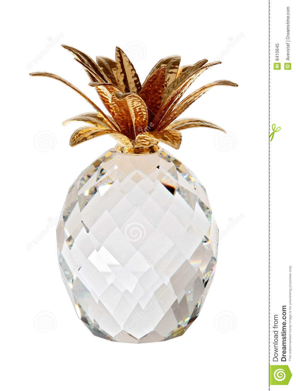 The Glass Pineapple Royalty Free Stock Photo Image 8410645