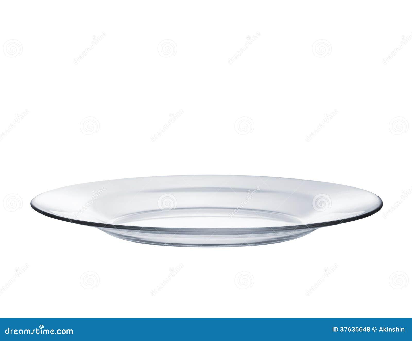 Glass platta