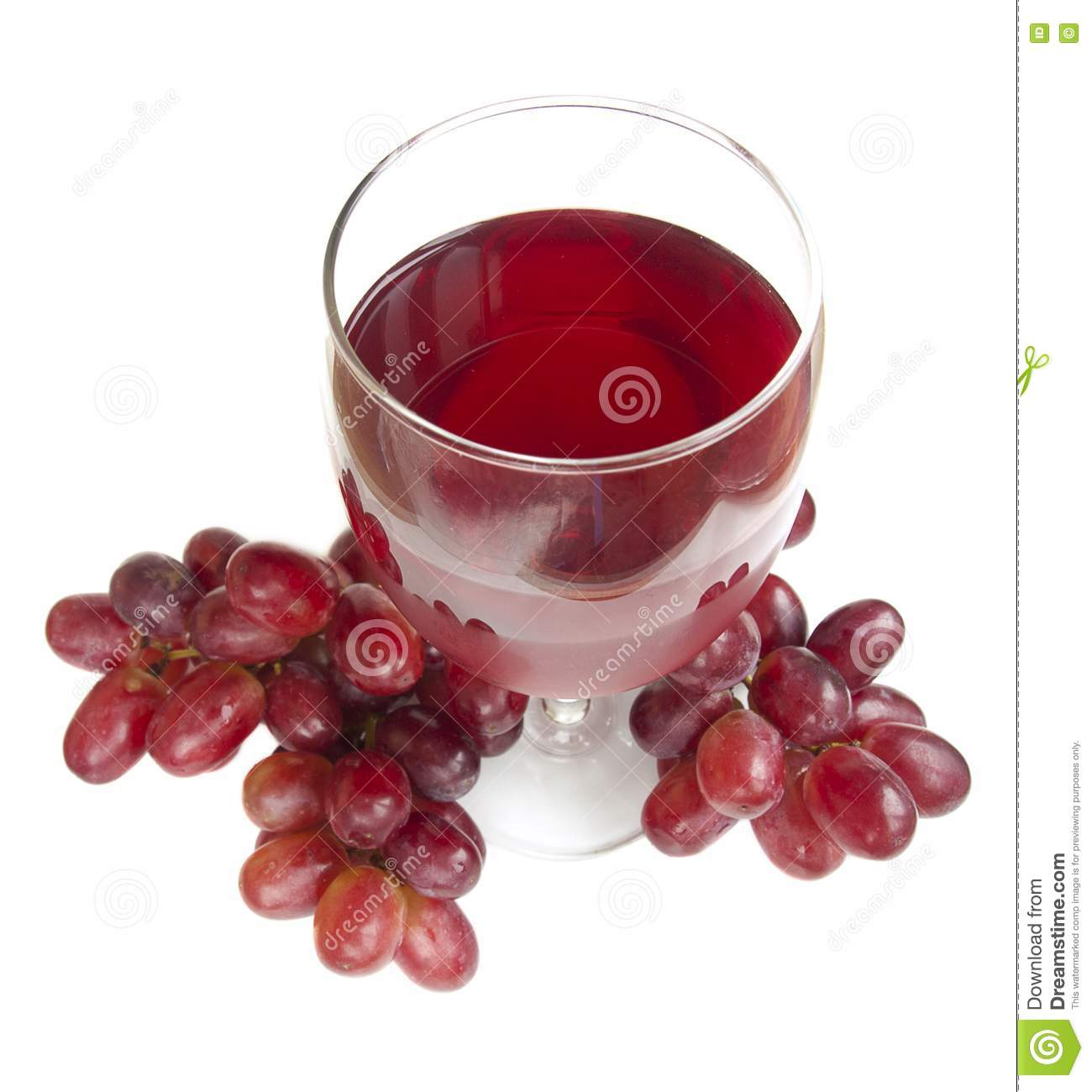 Glass Of Red Grape Juice Stock Photography - Image: 24442122