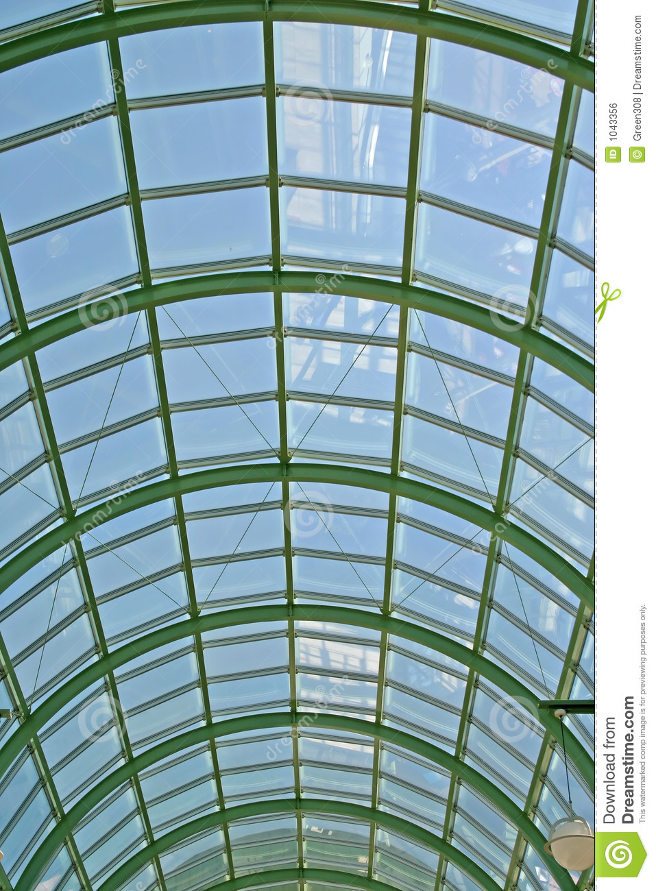 Glass Roof Royalty Free Stock Image Image 1043356