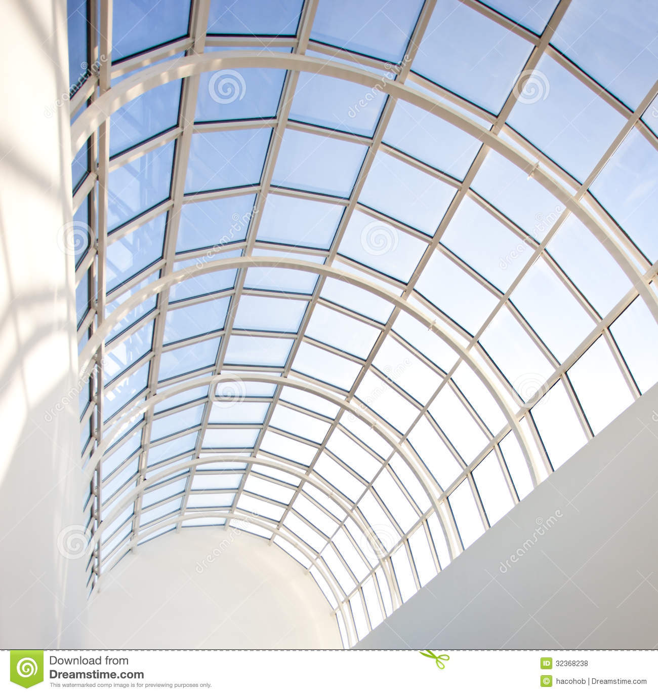 Glass Roof Royalty Free Stock Photos Image 32368238