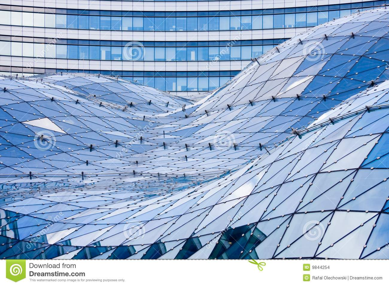 Stock Images Glass Roof Modern Building Image9844254 on el exterior design