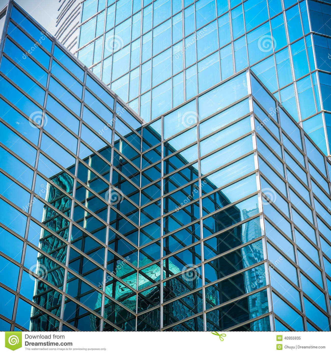 Glass skyscraper with abstract texture stock photo image for Exterior glass wall texture
