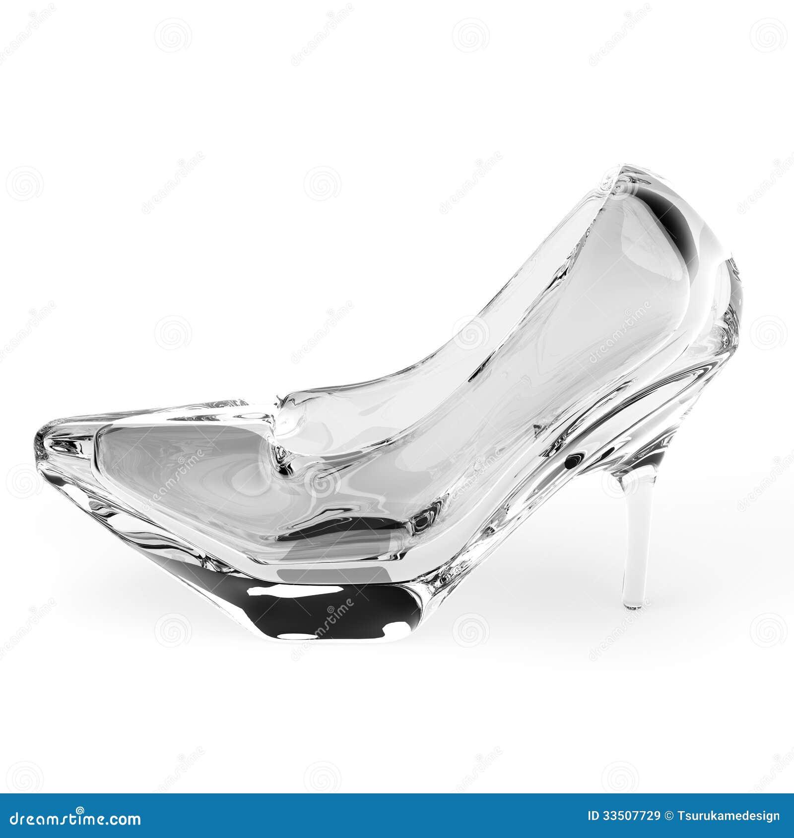Glass Slipper stock illustration  Illustration of fairy