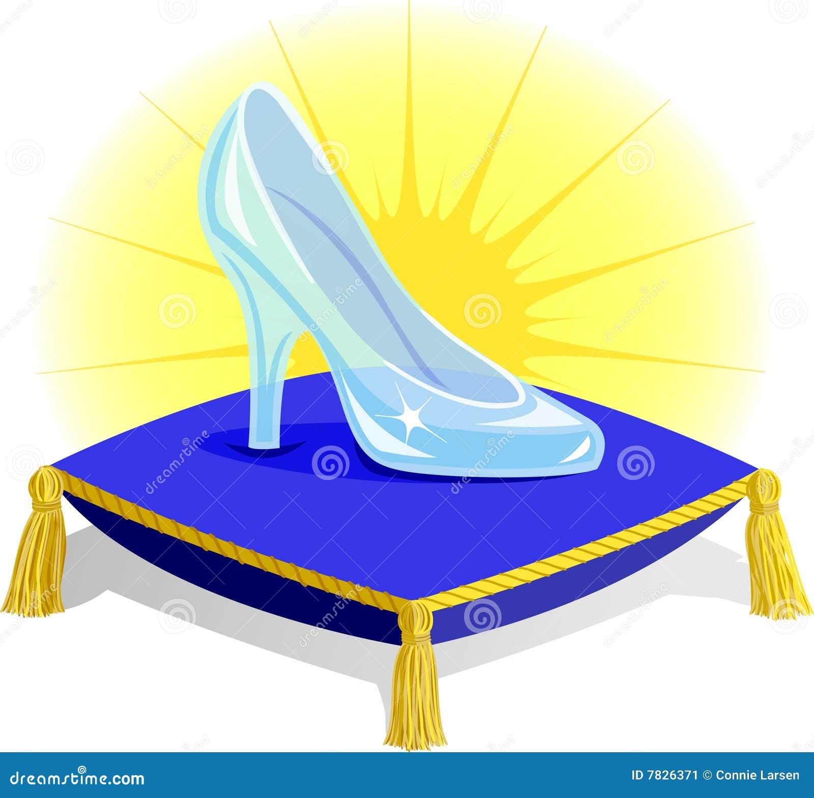 Cinderellas Glass Slipper Glass Slipper on Pilloweps
