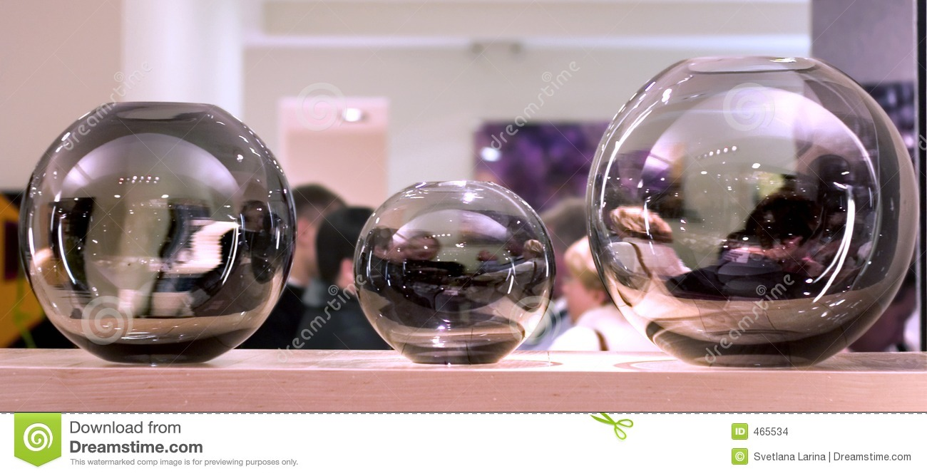 Glass decorations - Glass Spheres Interior Decorations