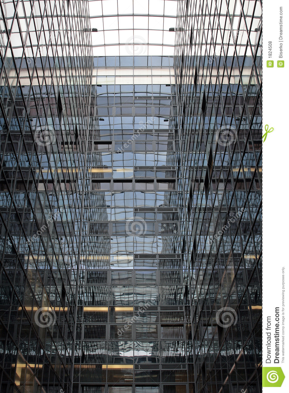 Glass And Steel Architecture Royalty Free Stock Photos