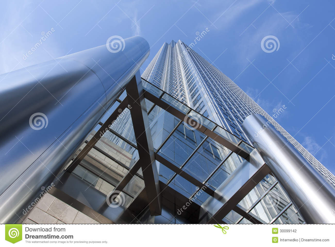 Modern High Rise Building London Stock Photography