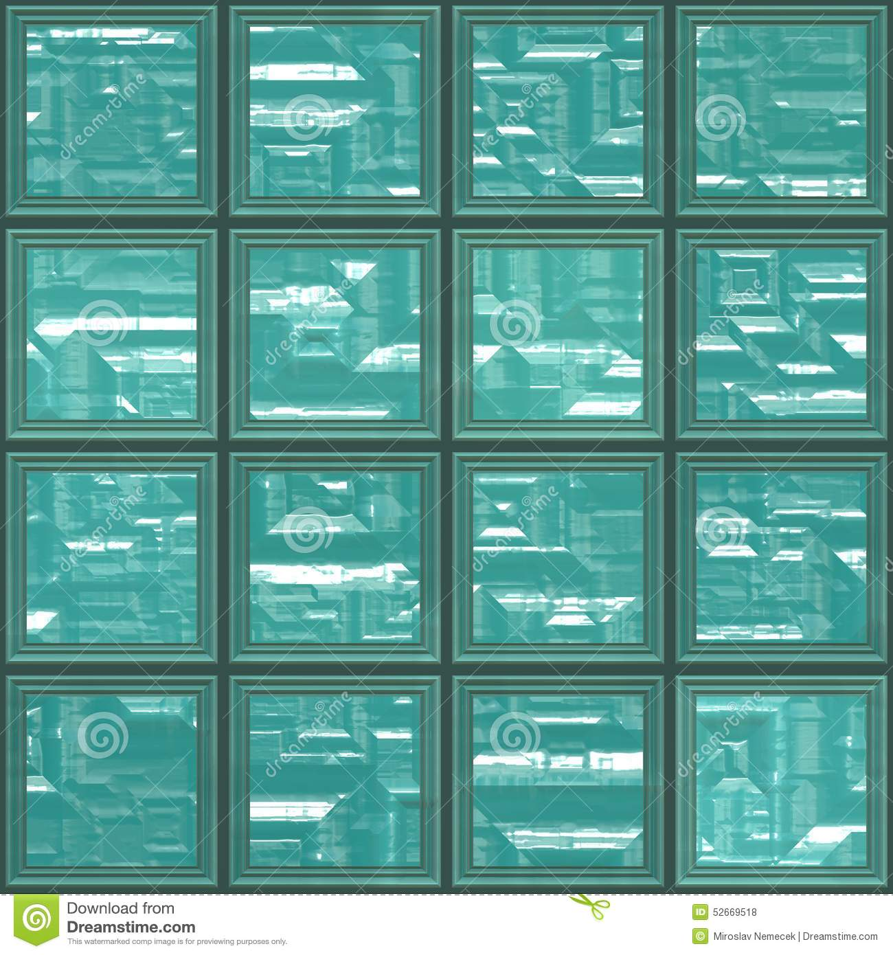 Glass tiles seamless generated texture stock photo for Glass tile texture