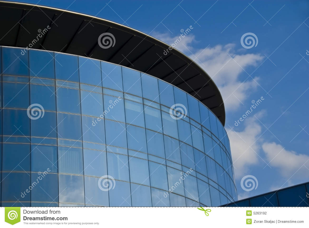Glass tower - corporate building