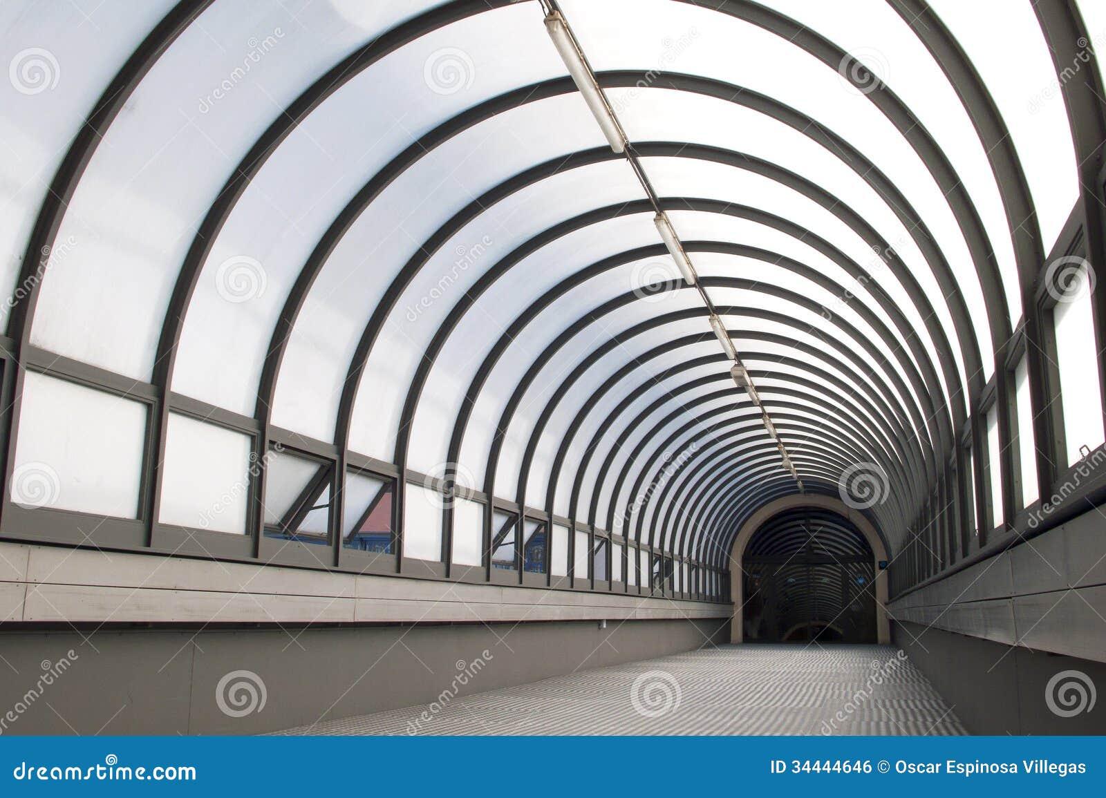 Glass Tunnel Stock Photo Image Of Glass Finance Hall
