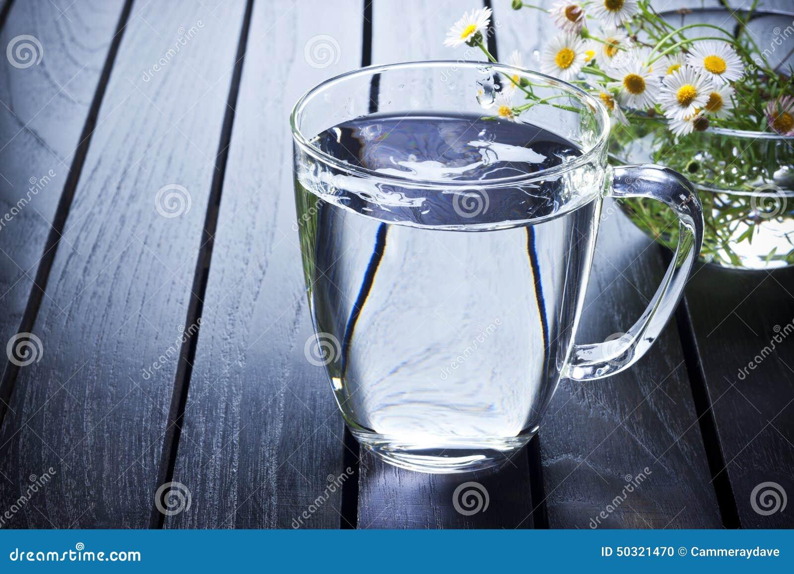 Glass vatten