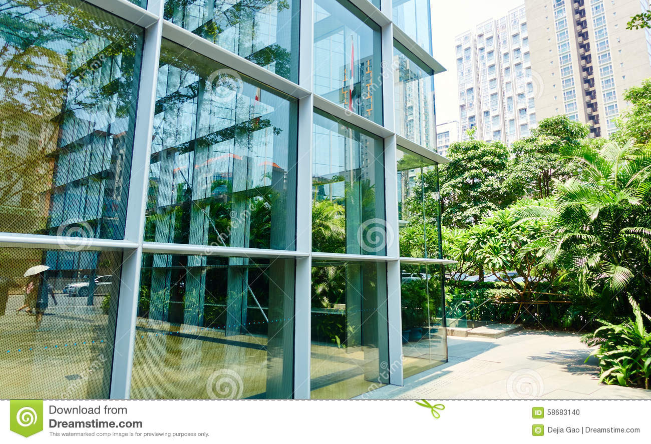 Steel Glass Buildings : Modern office glass building stock photo image of steel