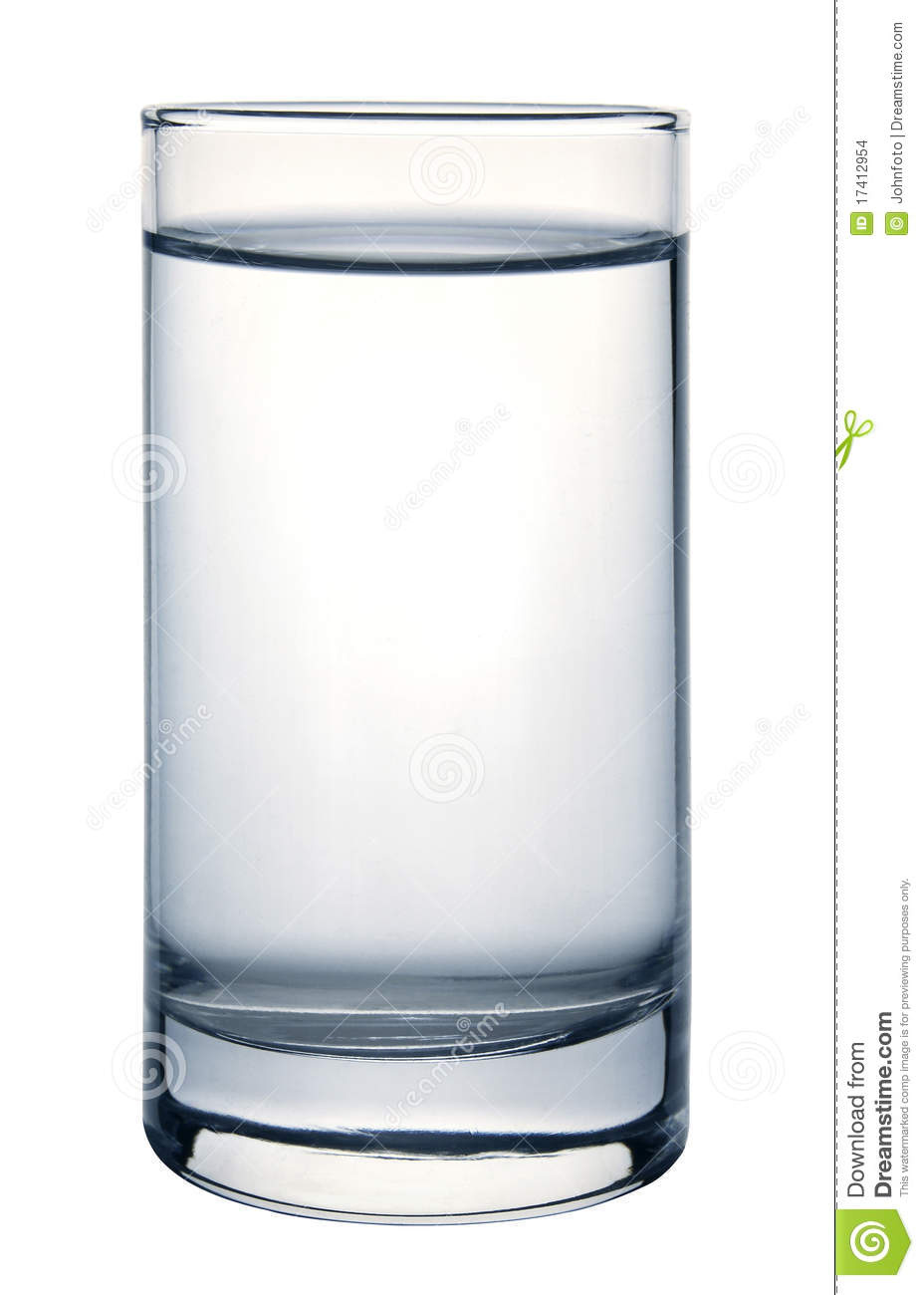 Glass of water stock images image 17412954 for Water glass images