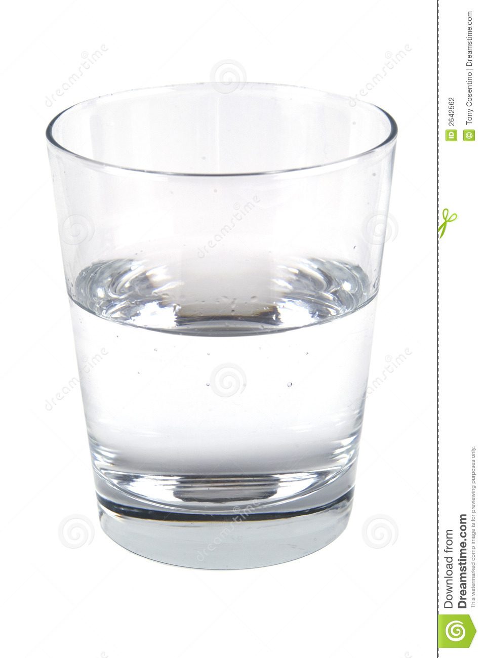 Glass of water stock photo image of supply pollution for Water glass images