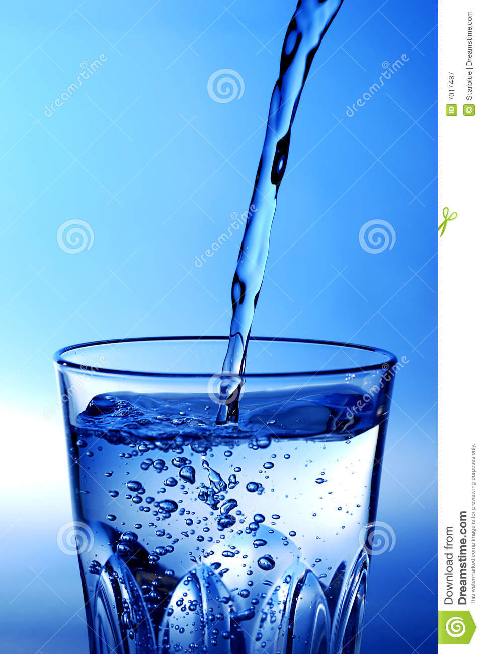 Glass Of Water Stock Image  Image Of Glass  Pouring  Fresh