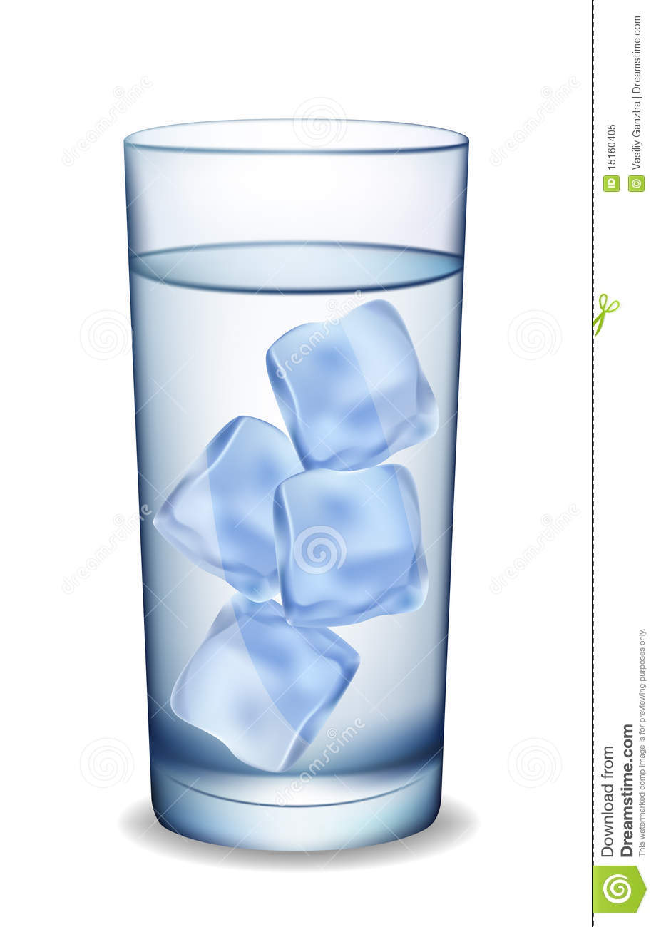 Glass Of Water With Ice. Royalty Free Stock Photo - Image: 15160405