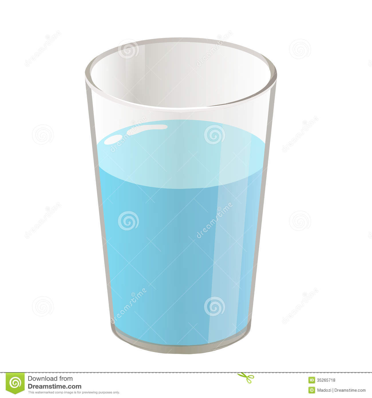 cup of water clipart - photo #14