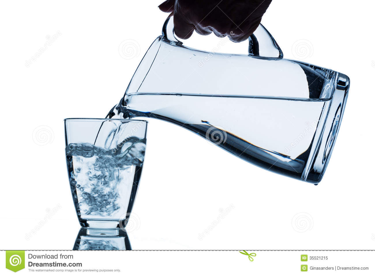 Glass Jug For Drinking Water