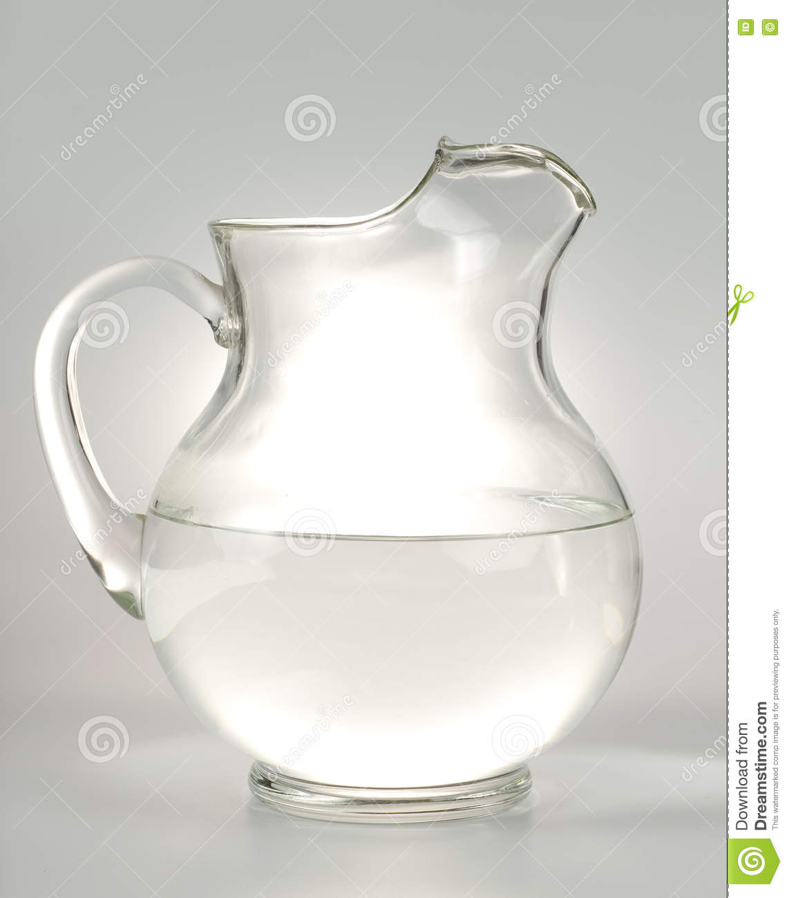 glass water pitcher stock photo  image  - glass water pitcher
