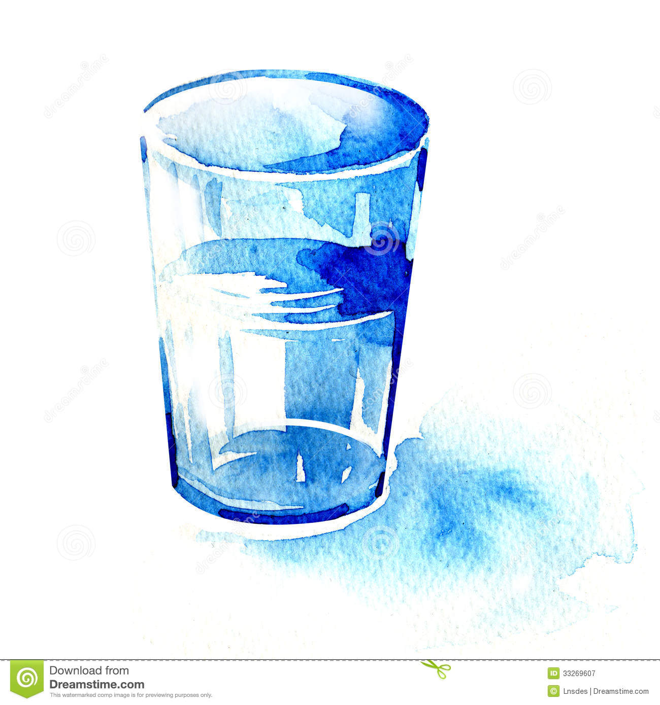 Glass Of Water Royalty Free Stock Photography - Image ...