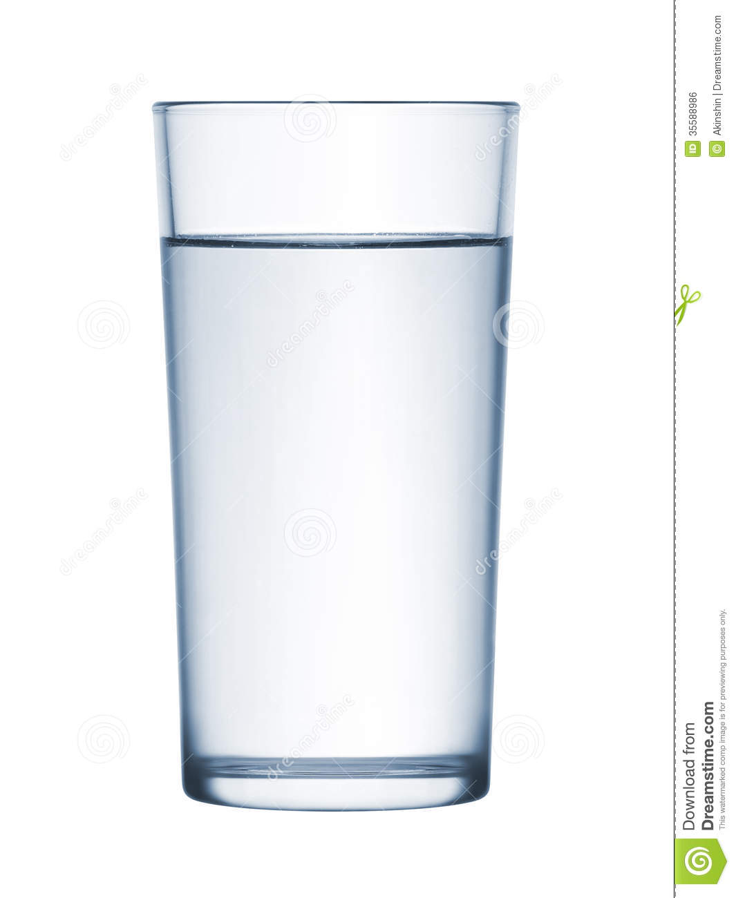 Glass Of Water Royalty Free Stock Image - Image: 35588986