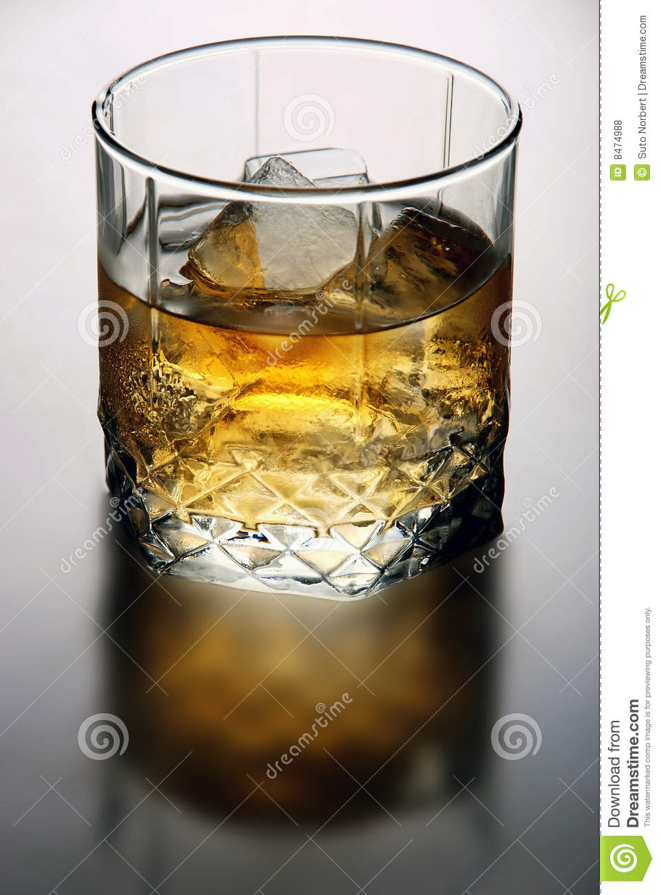 Glass whiskey