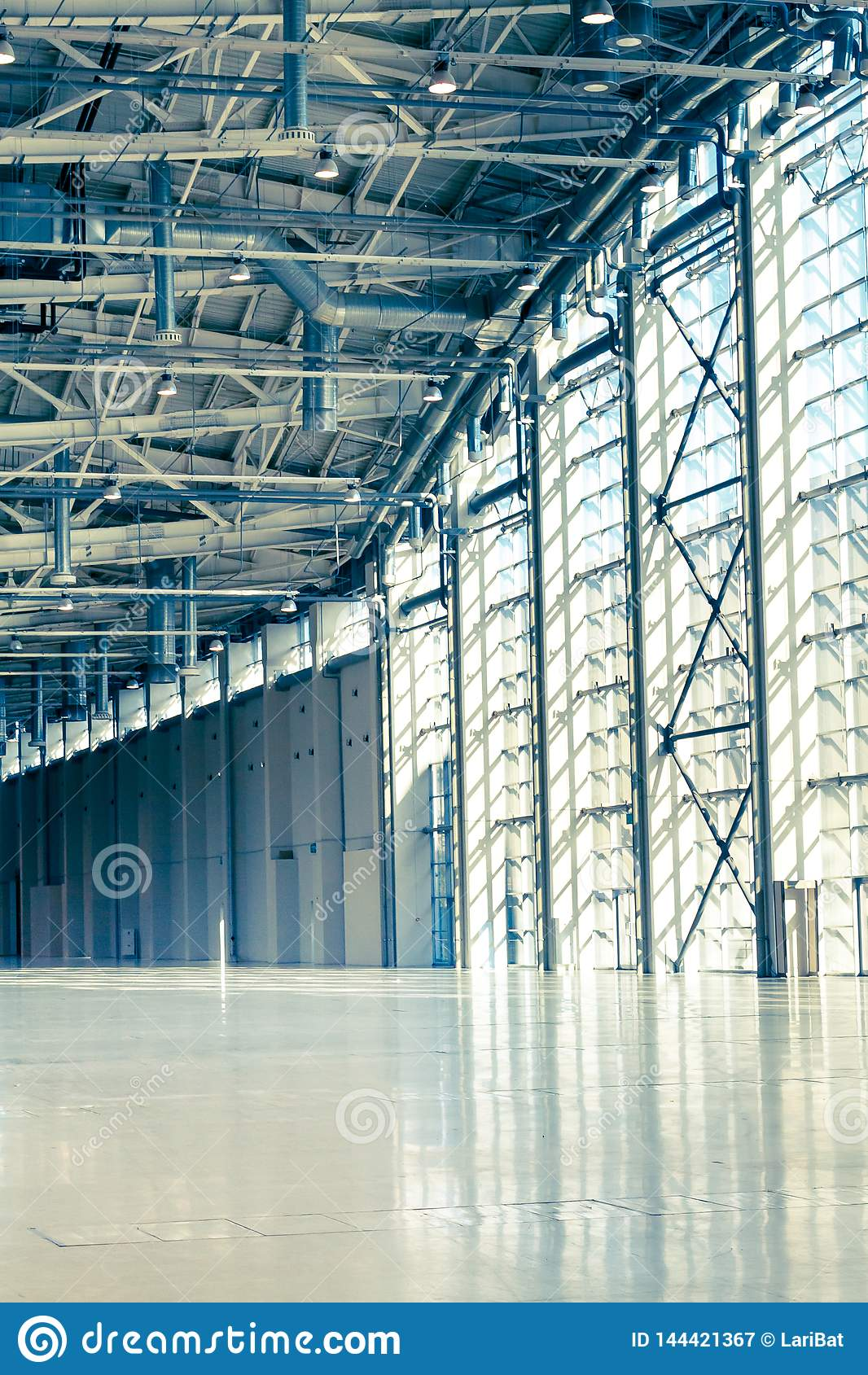 Glass windows, doors in commercial real estate