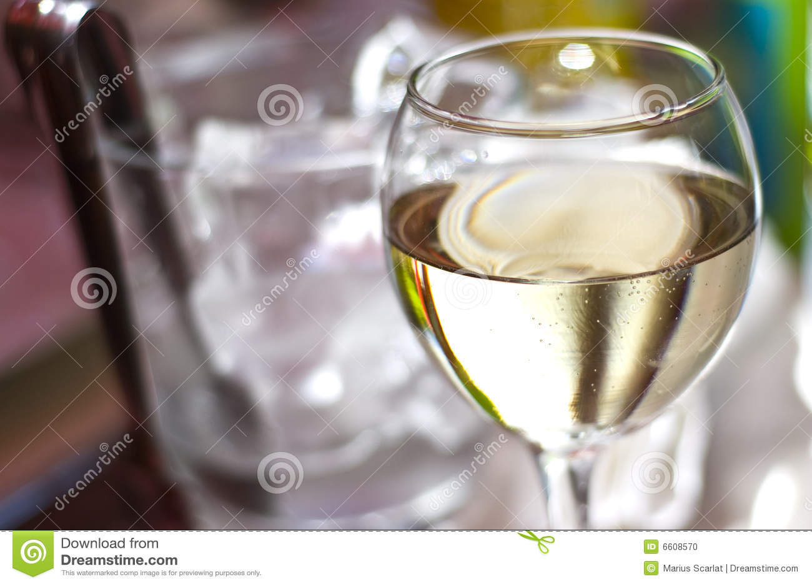 Glass wine