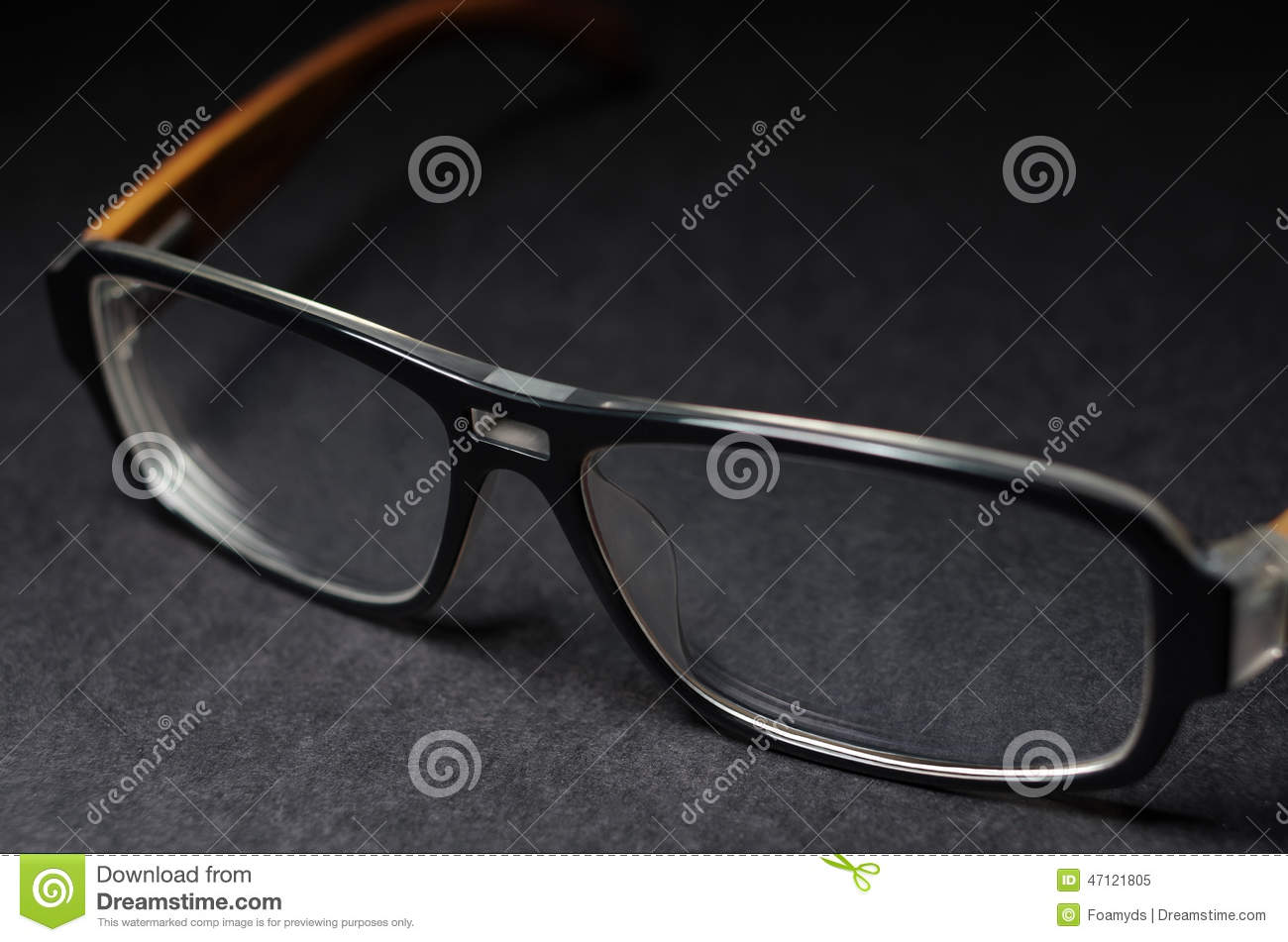 Eyeglass Frame Cleaning : Glasses Stock Photo - Image: 47121805