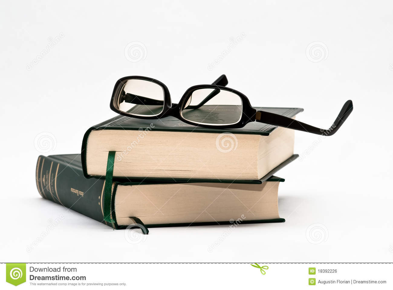 glasses on book - photo #36