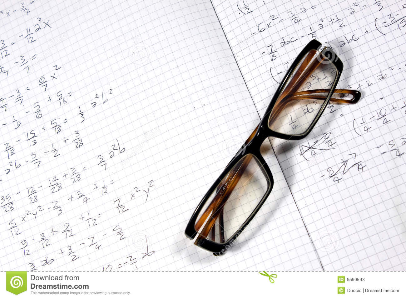 Glasses and calculations