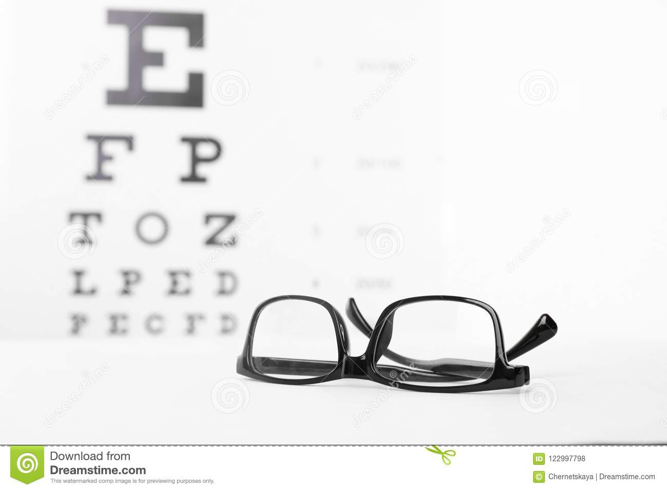 1a7b8d70017d Glasses With Corrective Lenses Stock Photo - Image of design