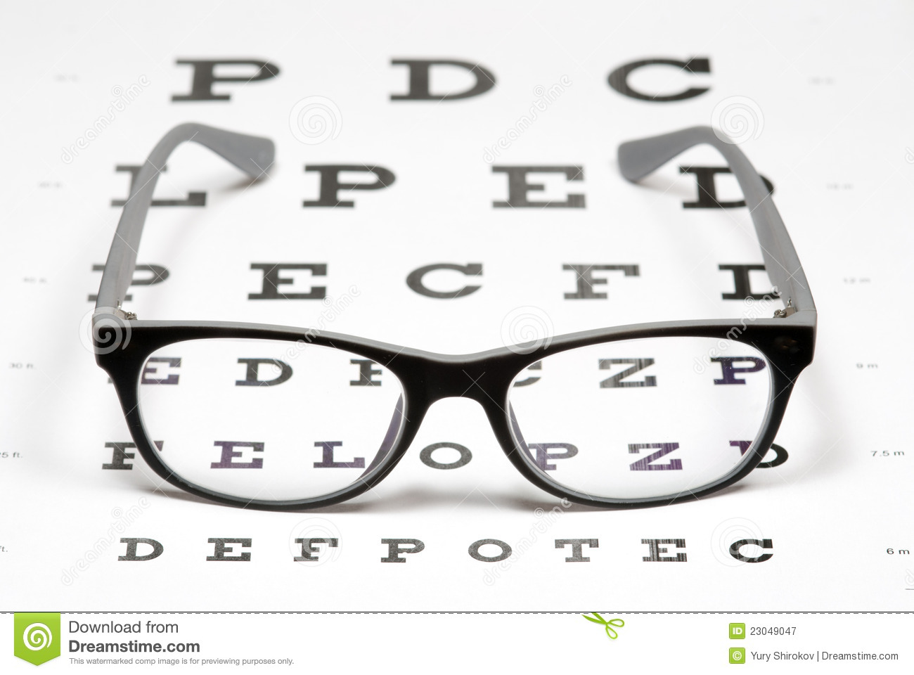Eye chart stock photos royalty free images geenschuldenfo Choice Image
