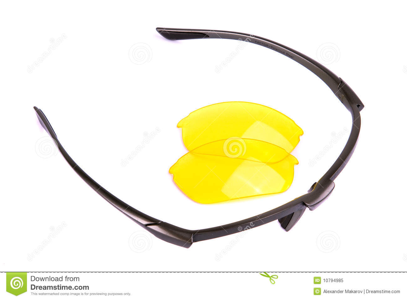 Glasses Frame And Lens Royalty Free Stock Photo - Image ...