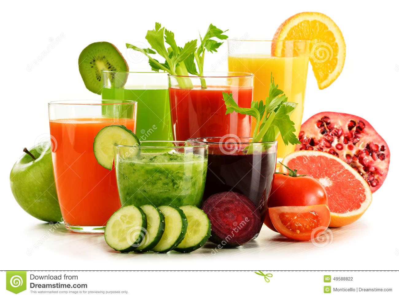 fruit and vegetable detox organic fruit