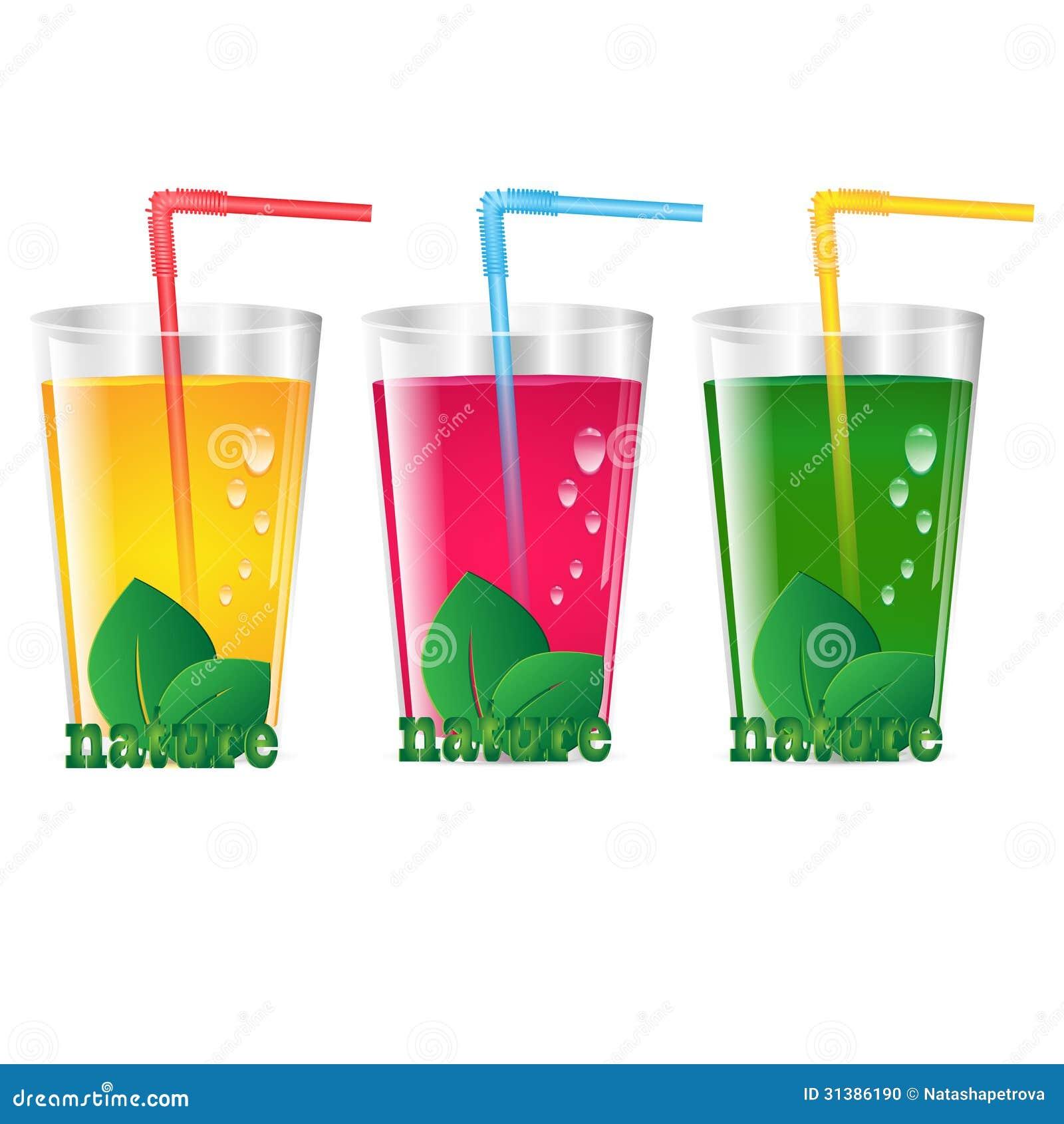 Crystal Juice Glasses