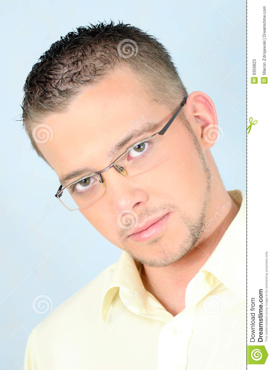 Glasses man young