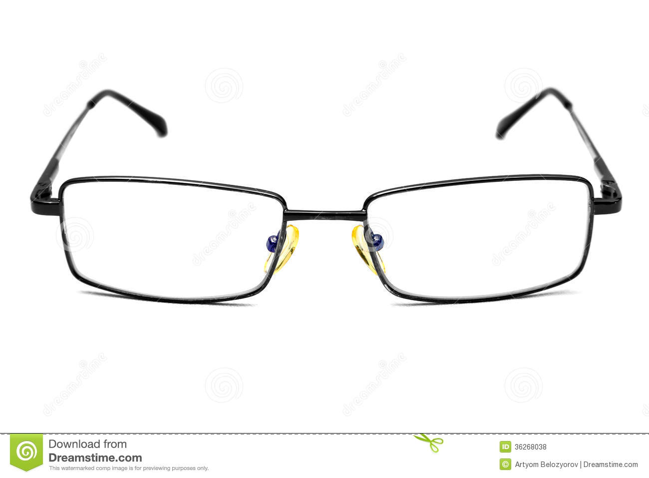Eyeglass Frame Board Management : Glasses Royalty Free Stock Photos - Image: 36268038