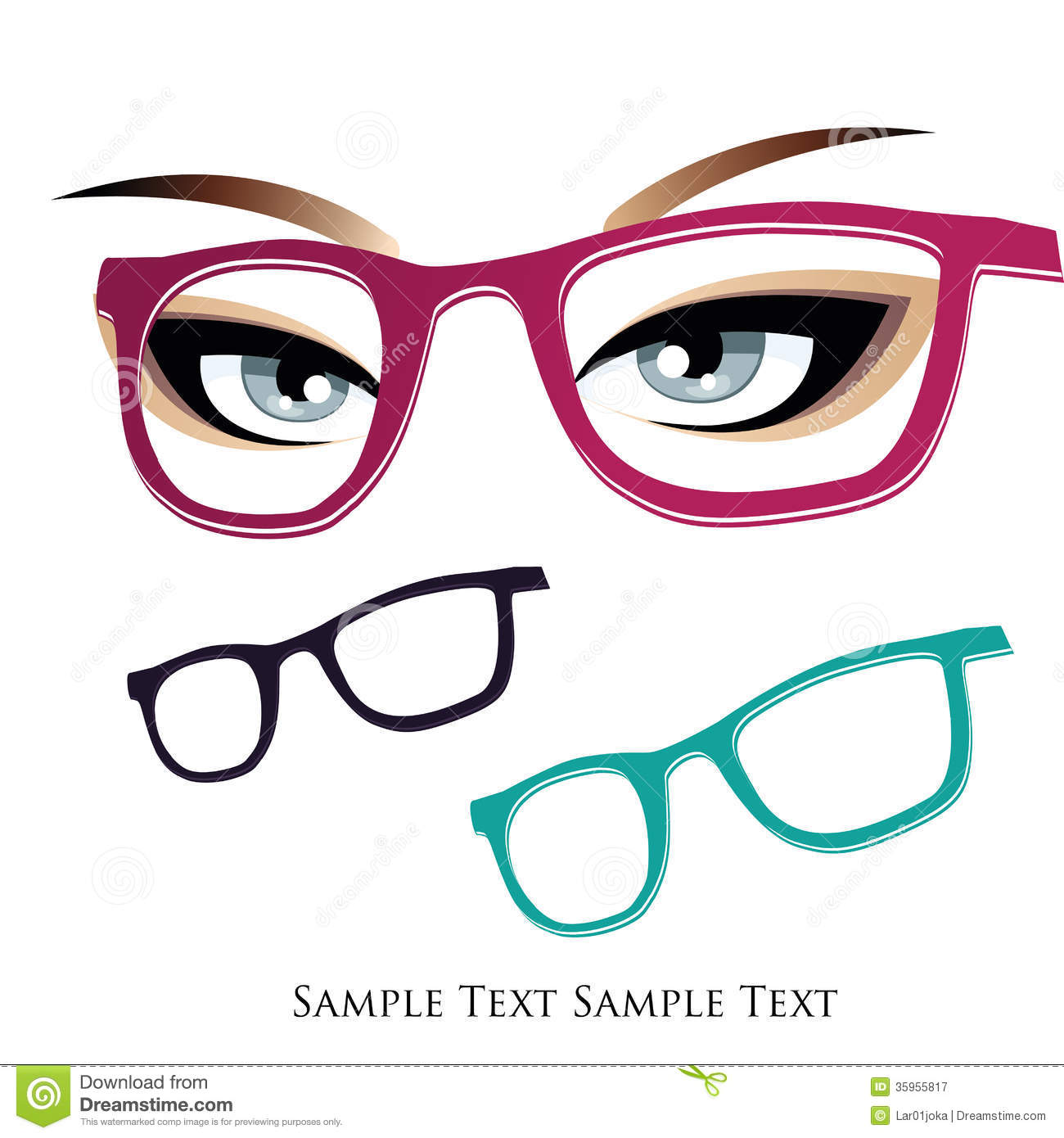 Glasses Royalty Free Stock Photography - Image: 35955817