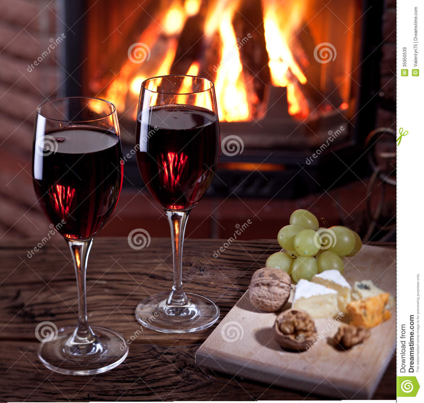 romantic dinner wine fireplace stock images 202 photos
