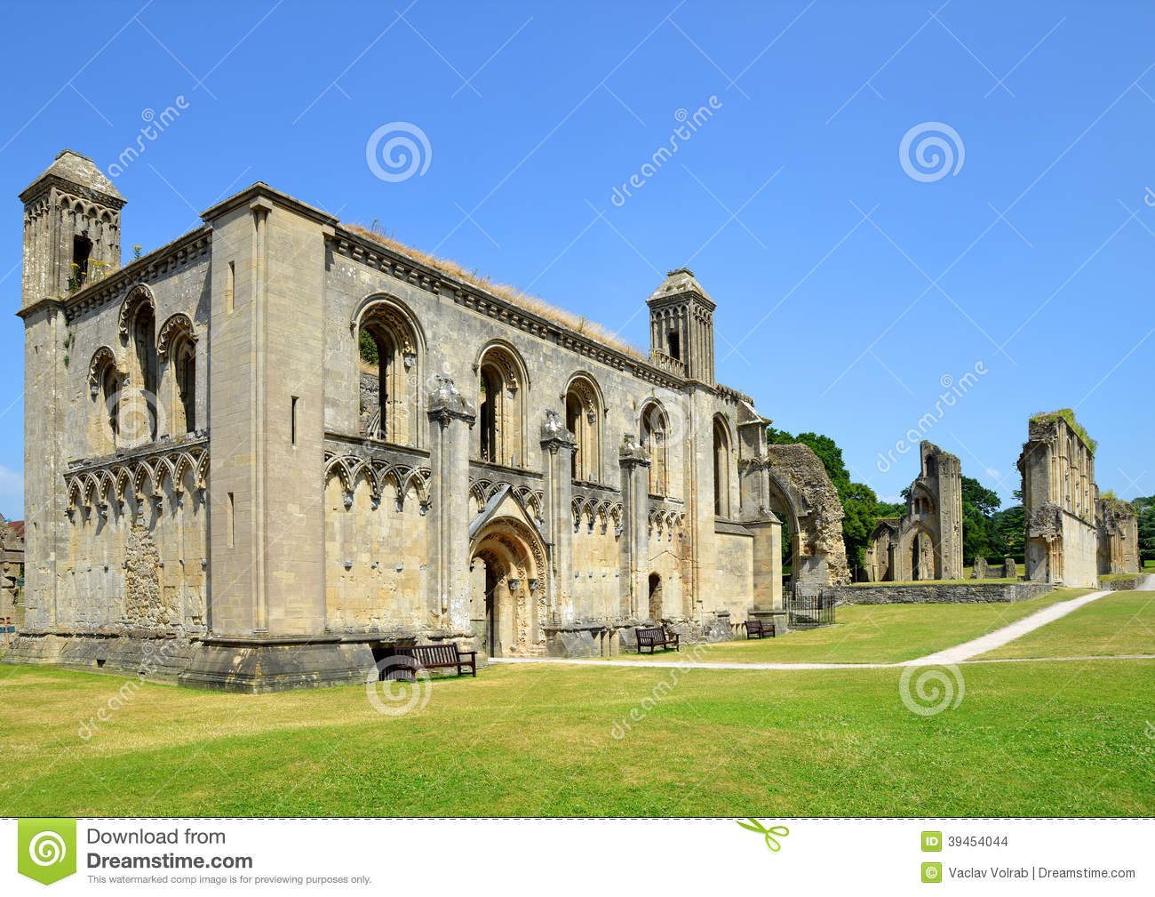 Glastonbury United Kingdom  city photos : ... ruins of Glastonbury Abbey in Somerset, England, United Kingdom