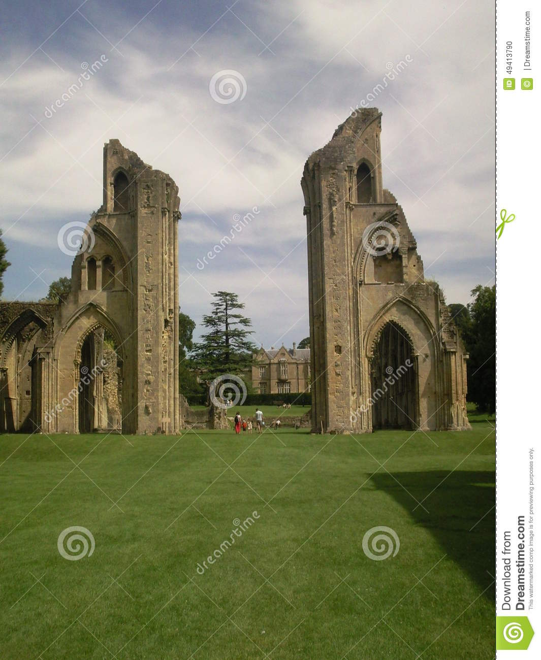 Download Glastonbury Abtei stockfoto. Bild von camelot, glastonbury - 49413790