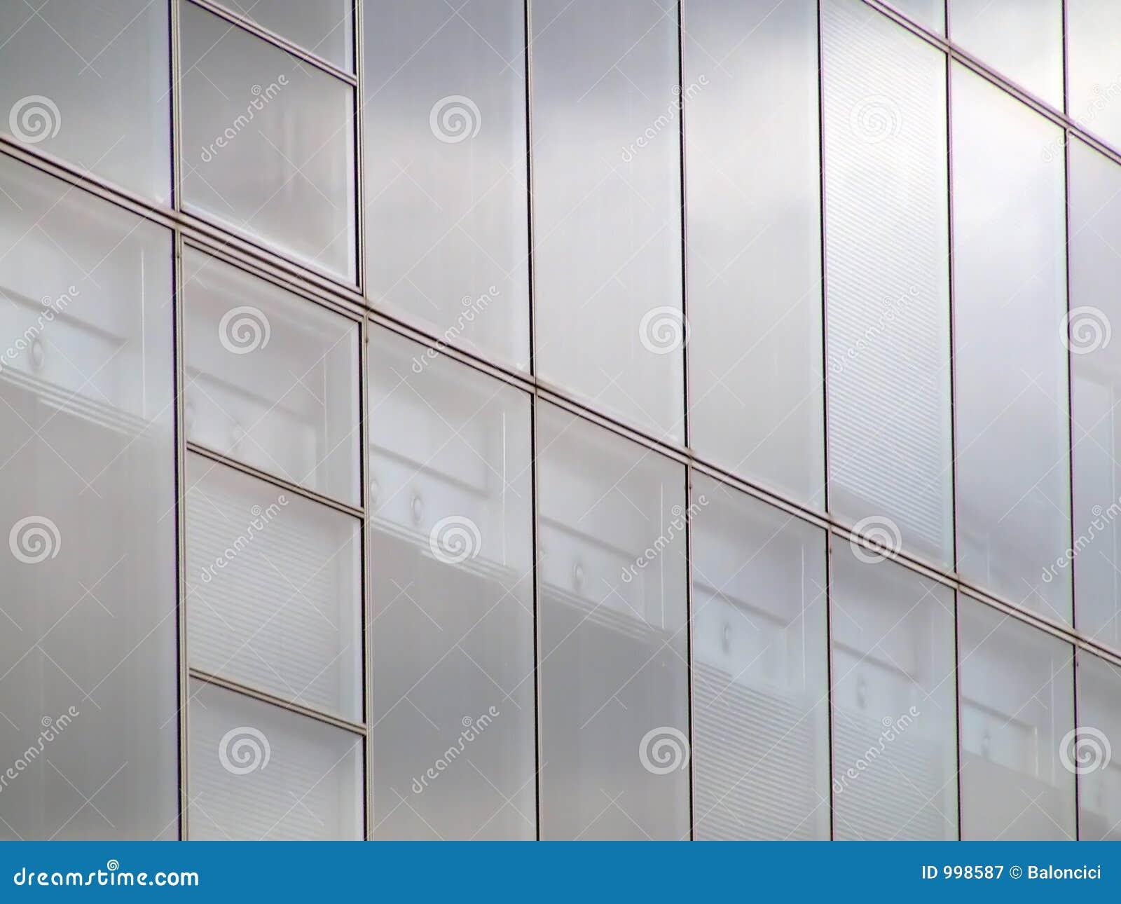 Glasvägg