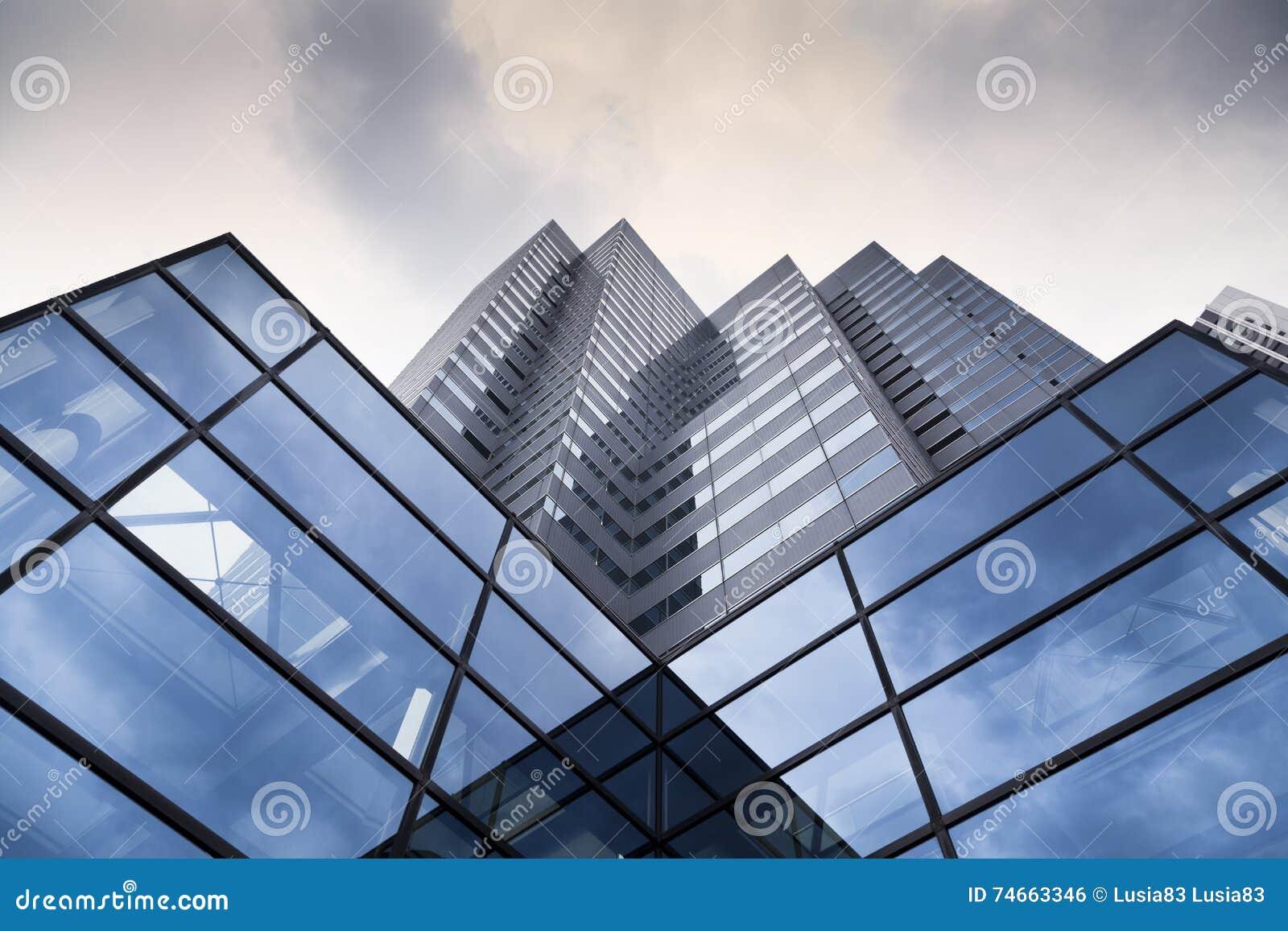 Glaswandhintergrund futuristische architektur b rogeb udefassade stockfoto bild von asien - Futuristische architektur ...