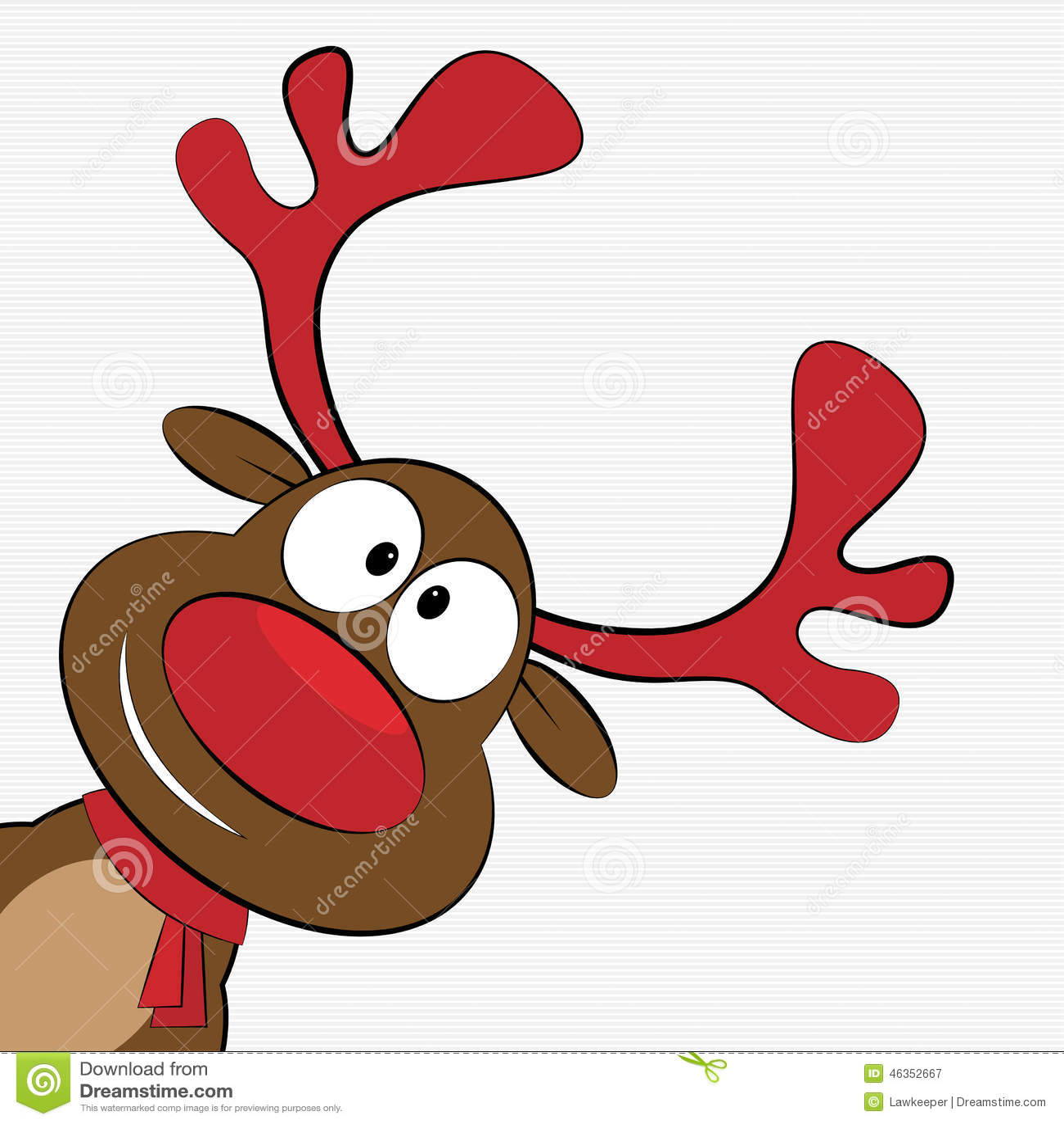 Glatt julhälsningskort