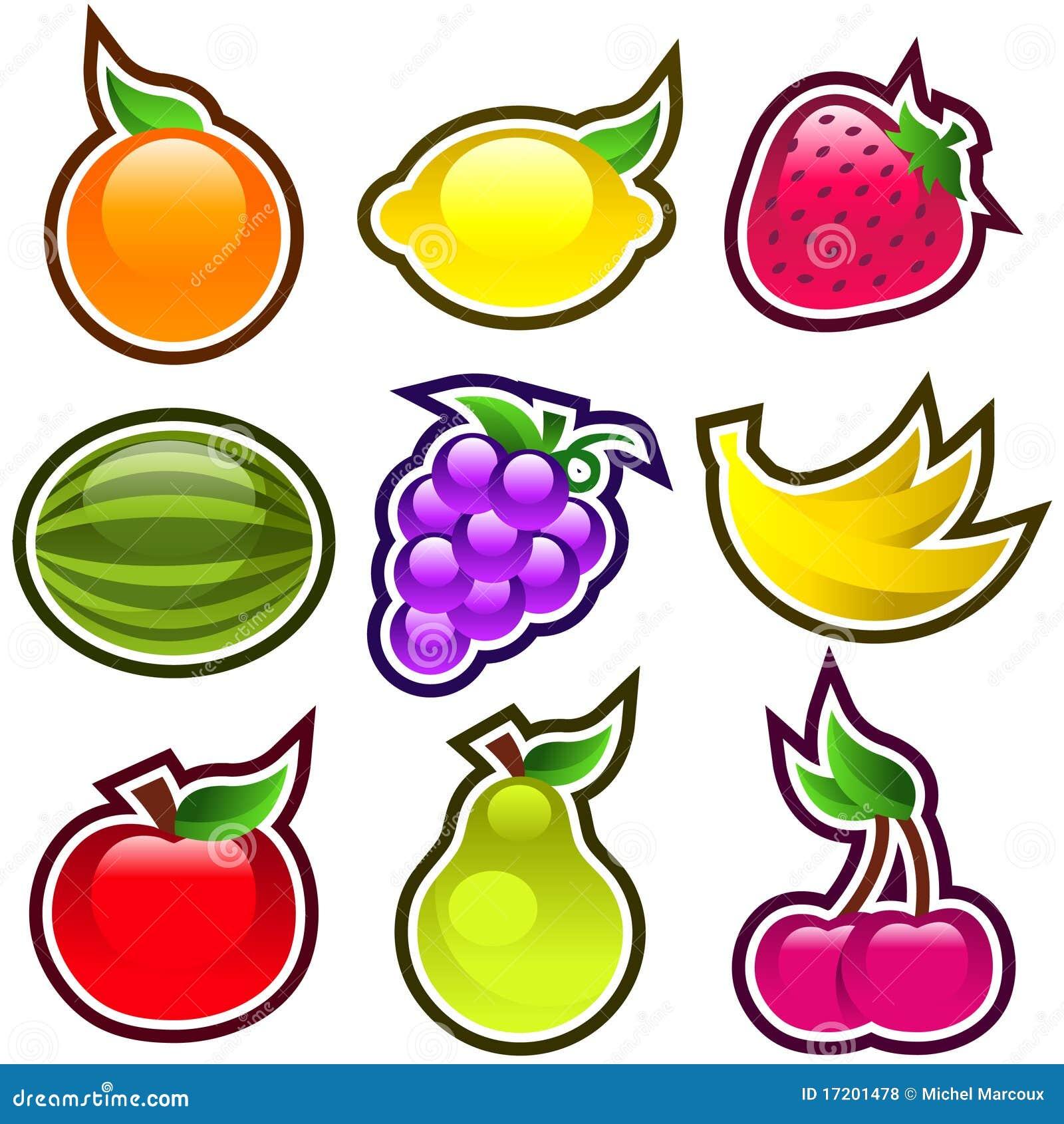 Glatte Früchte