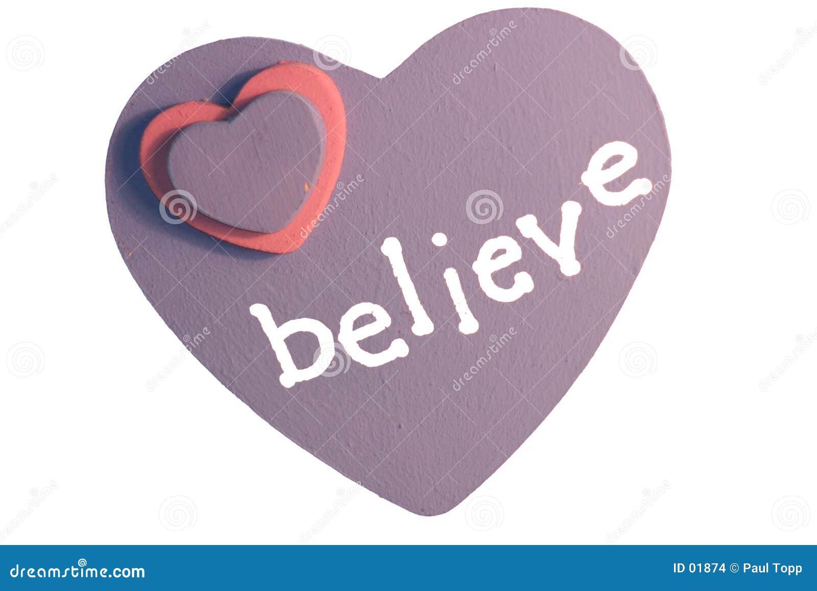 Glauben Sie an Liebe