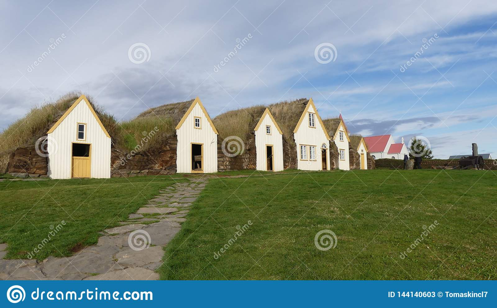 Glaumbaer, первая ферма на Исландии