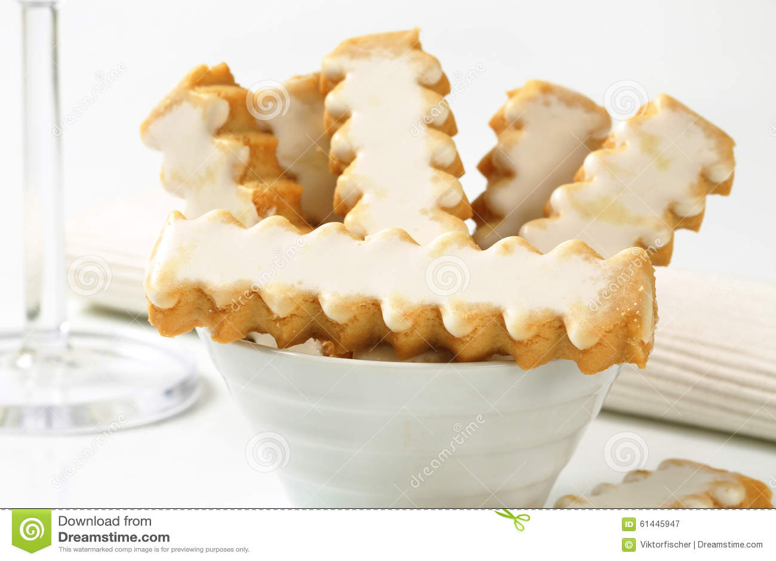 Glazed Cookies Stock Photo - Image: 61445947